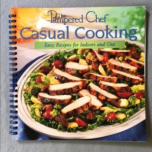 "Cookbook : The Pampered Chef ""Casual Cooking"""